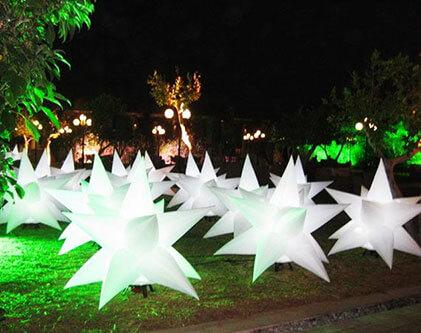 Custom Inflatable Decoration Star-1