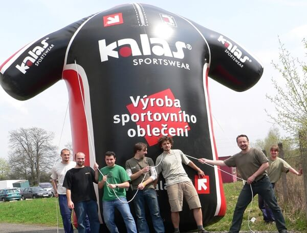 Below is 17ft tall inflatable Jersey order we made for client